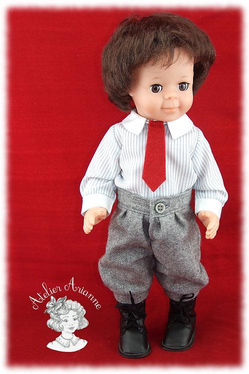 Tenue Octobre 1982 pour poupée Jean-Michel de Modes et Travaux