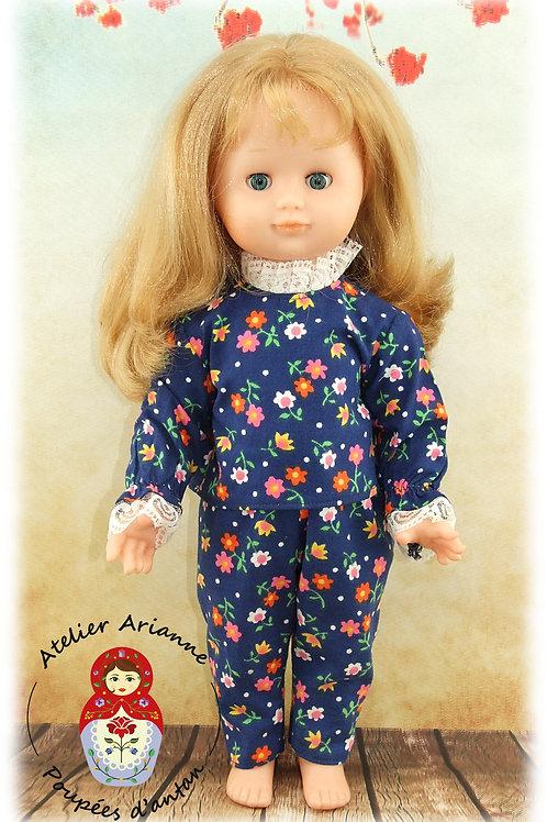 LISA pyjama Tenue pour poupée Emilie Modes et Travaux