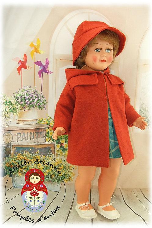 ELIZAWIETA reproduction tenue pour poupée Bella 58 cm