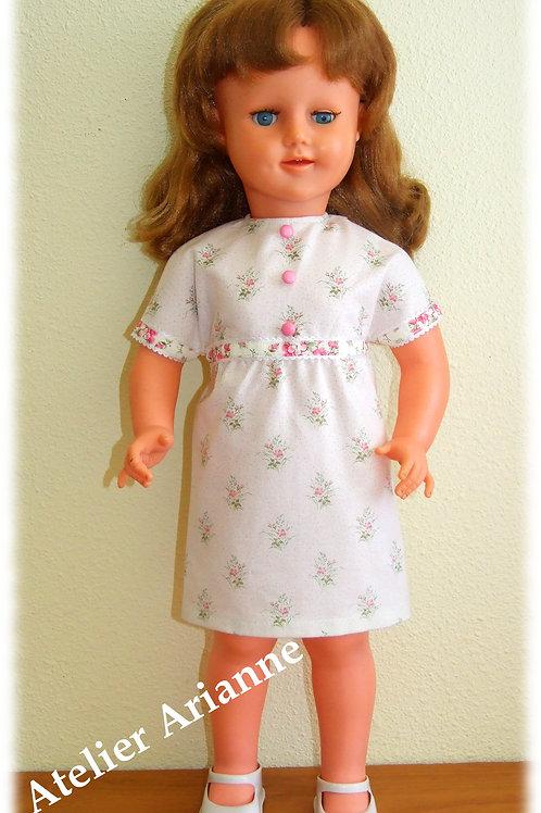 Tenue Elodie pour poupées de 55-57 cm