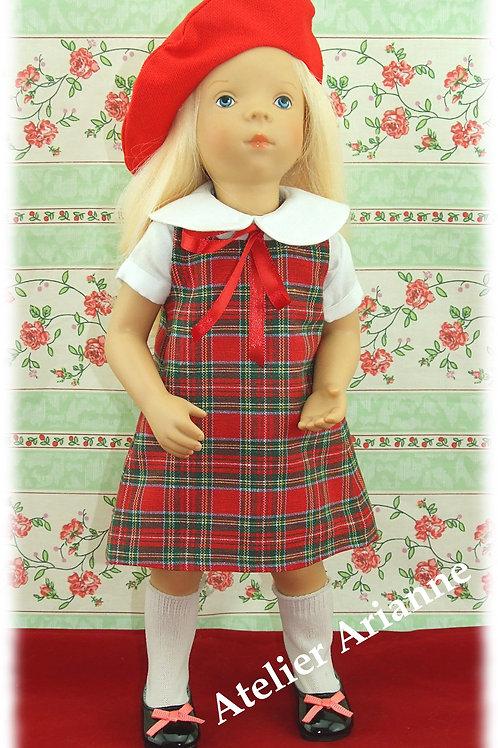 Tenue Henriette pour poupées Corolle, Minouche, Paola Reina et autres de 33 cm