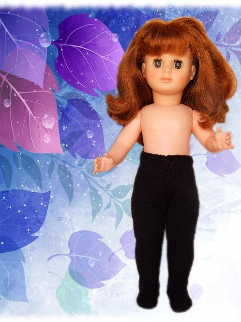 Collants tricot pour poupée Emilie Modes et Travaux