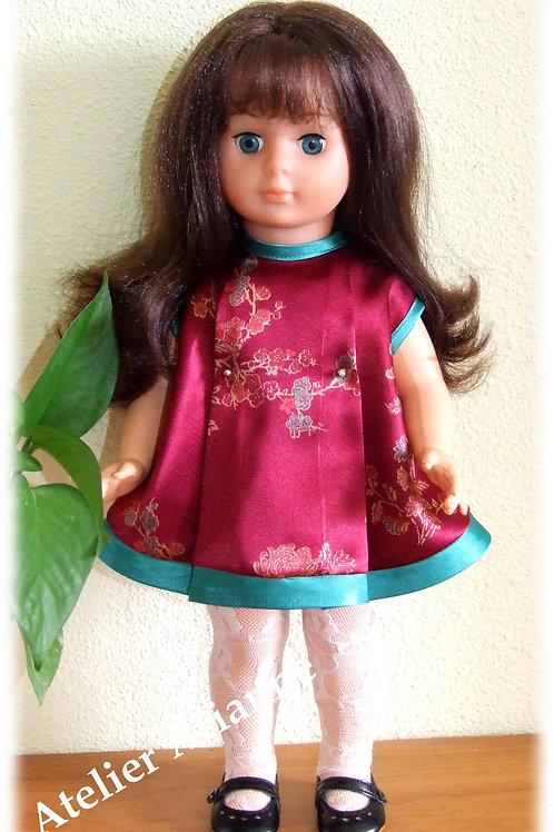 Tenue Octobre 1967 pour poupée de Modes et Travaux, Marie-Françoise