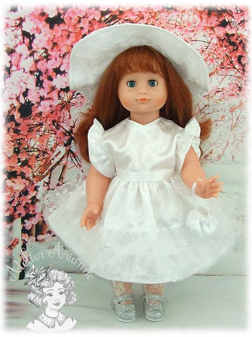 Tenue pour poupée Emilie et Pedigree Juillet 1952