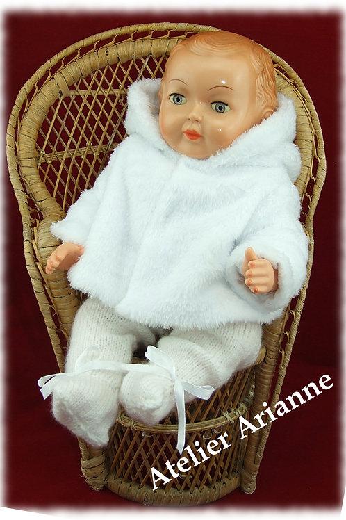 Tenue pour poupée Michel Modes et Travaux Novembre 1957