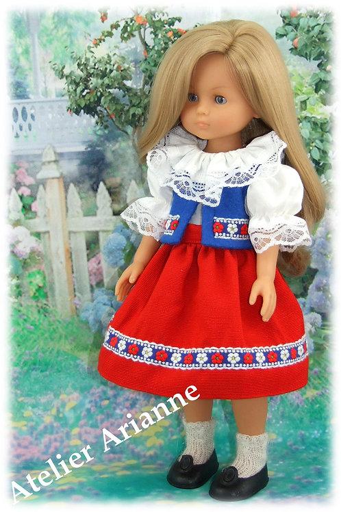Tenue Barbel pour poupées : Corolle, Paola Reina, Minouche, Mini Maru, LD