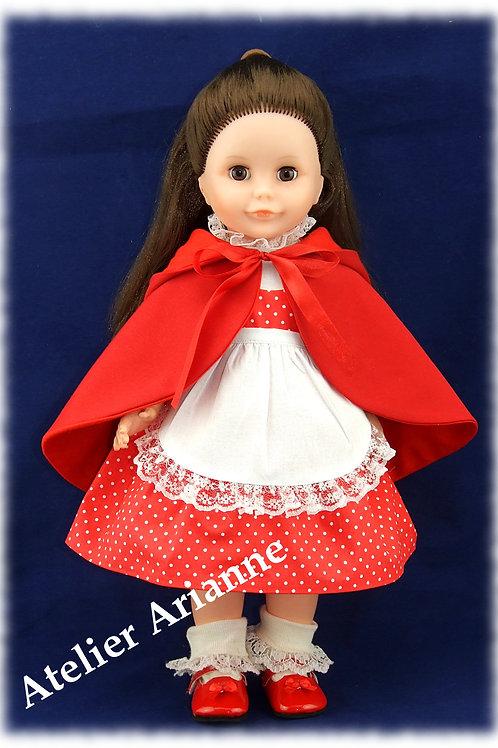 Tenue février 1981 pour poupée Marie-Françoise de Modes et Travaux