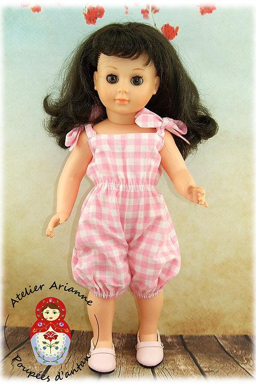Juillet 1978 Tenue pour poupée Marie-Françoise  de Modes et Travaux