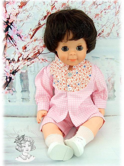 Mars 1982-Tenue pour poupée Michel de Modes et Travaux