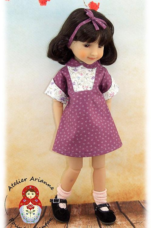 Annika - Tenue pour poupée Ruby Red