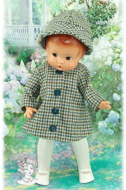Tenue Mona pour poupées: Minouche, Bombon et Patsy de 33 cm