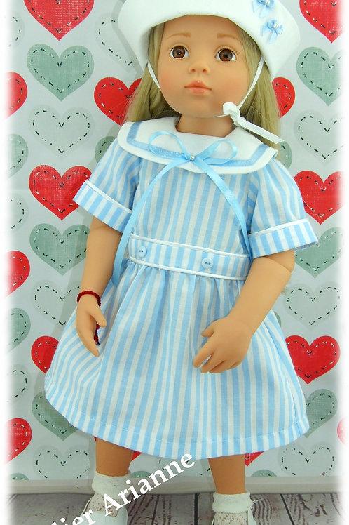 Tenue Annick pour poupée : Maru and Friends, Gotz, Kidz'n'Cats et d'autres 45 cm