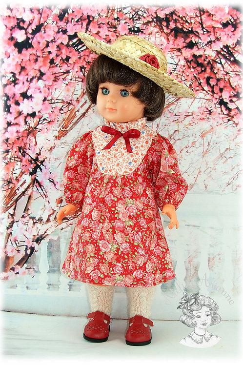 Mars 1982-Tenue pour poupée Marie-Françoise de Modes et Travaux