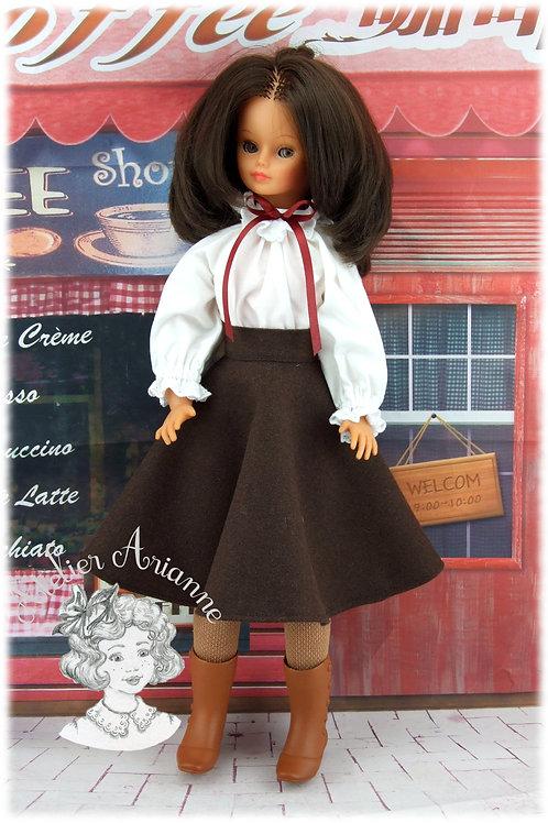 Octobre 1982 Tenue pour poupée Cathie de Bella
