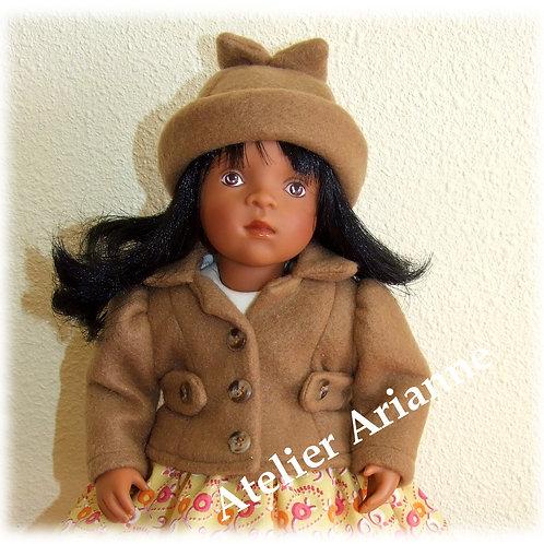 Tenue Melissa pour poupées  Little Darling ,Minouche, Corolle 33 cm