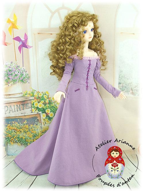 LADY AMALTHEA - reproduction - Tenue exclusive pour poupée BJD 60 cm