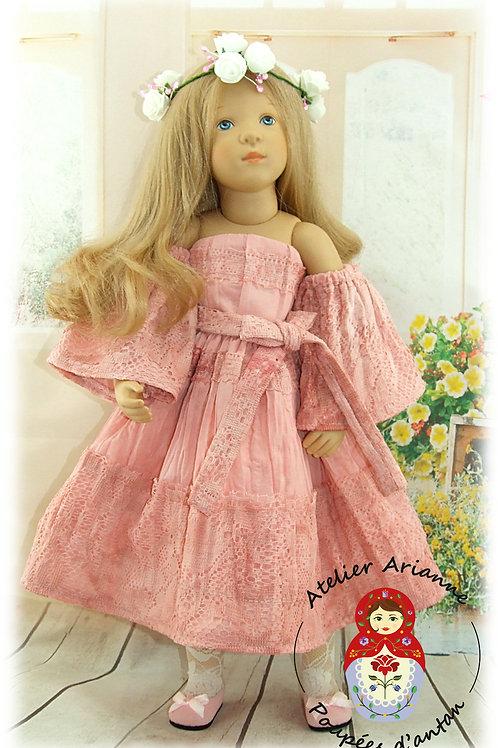 OKSANA - Tenue exclusive pour les poupée Finouche et Fanouche de Sylvia Natterer