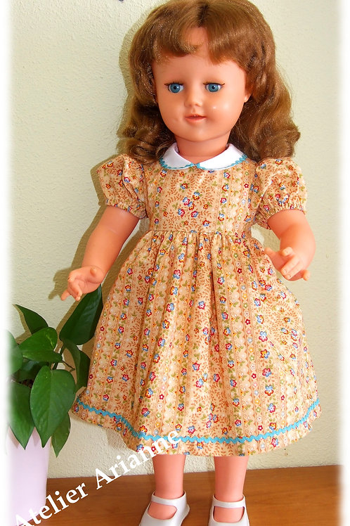 Tenue Lise pour poupée GéGé 56 cm