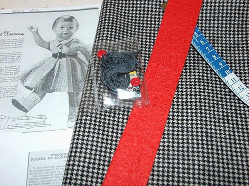 Kit 84 couture Modes et Travaux Françoise Avril 1952