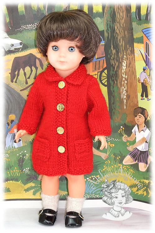 Septembre 1969 Tenue tricot pour poupée Françoise Modes et Travaux