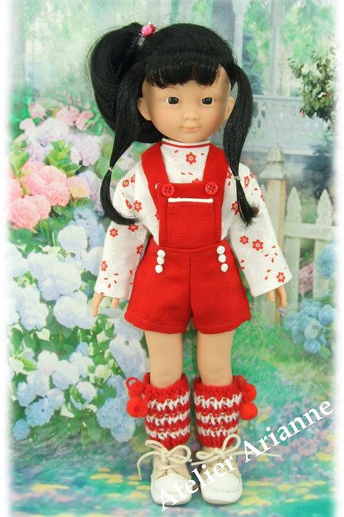 Tenue Manon pour poupées  Little Darling ,Minouche, Corolle 33 cm