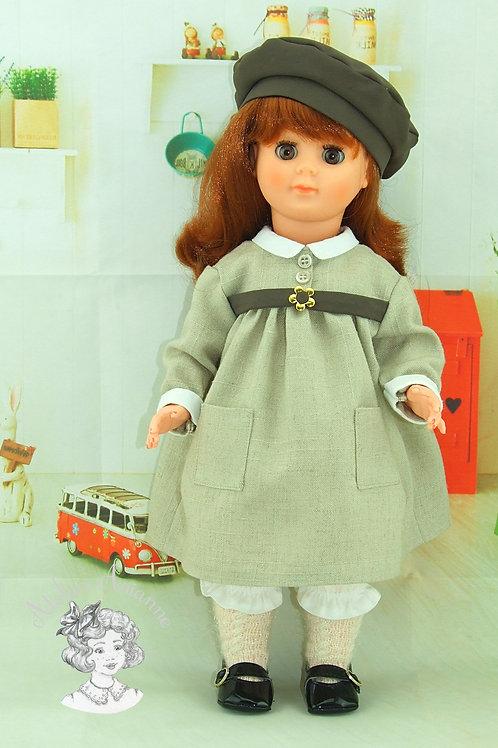 Bernadette-tenue pour poupée Marie-Françoise de Modes et Travaux