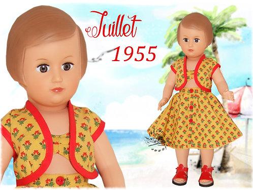Tenue Françoise Juillet 1955