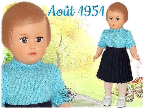 Ma réalisation pour Françoise d'Août 1951