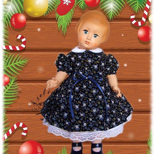 Tenue pour poupée Françoise ou Marie-Françoise Modes et Travaux Décembre 1951