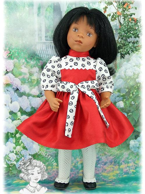 Reproduction de tenue d'origine pour poupée Migliorati 33 cm