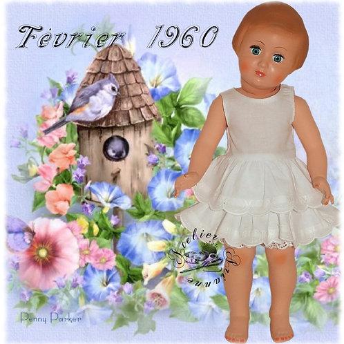 Tenue Françoise ou Marie-Françoise Février 1960