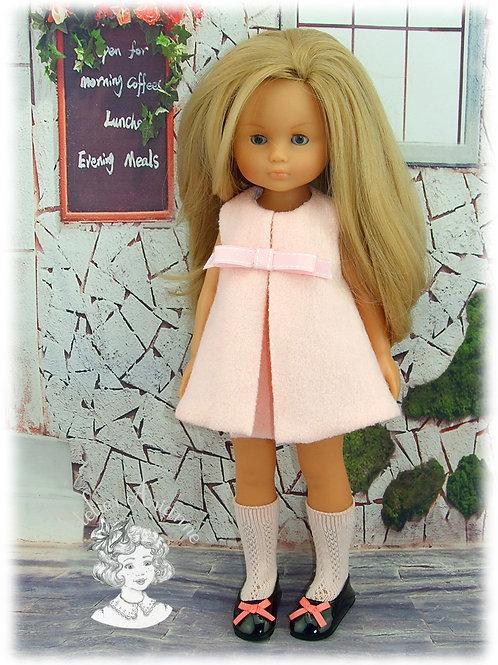 Octobre 1965 - Robe Lilou pour poupée Chérie de Corolle, Paola Reina, Minouche