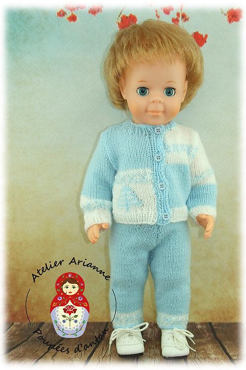 Hiver Tenue pour poupée Modes et Travaux : Jean-Michel
