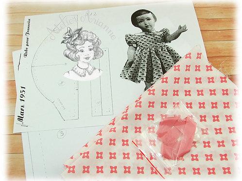 19 Kit couture Modes et Travaux Mars 1951 Françoise