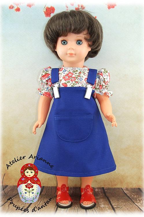 Juin 1983-Tenue pour poupée Marie-Françoise de Modes et Travaux