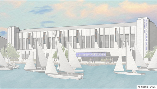 SSC Rendering - Exterior with P+W Logo.p