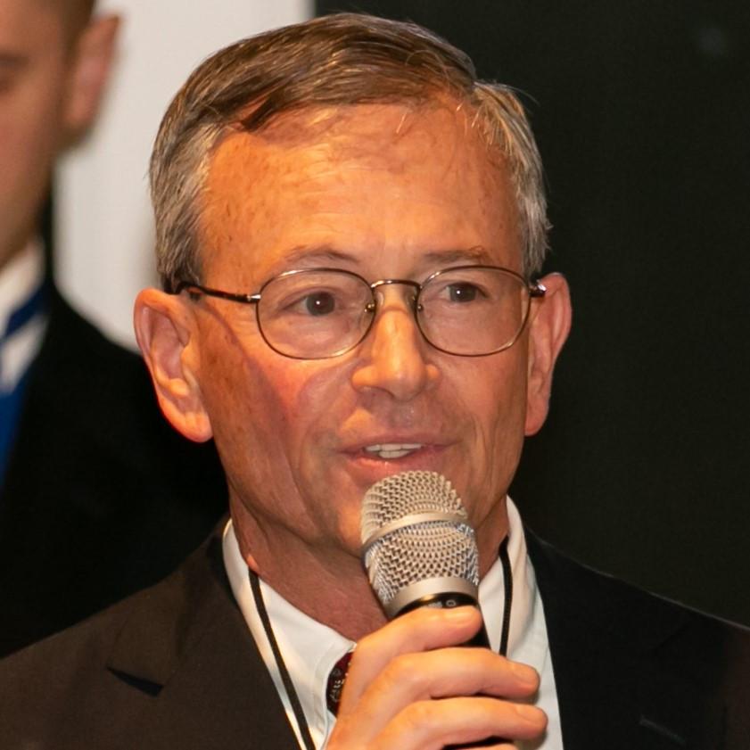 Jim Hancock speaking at the SSC 2019 Gala