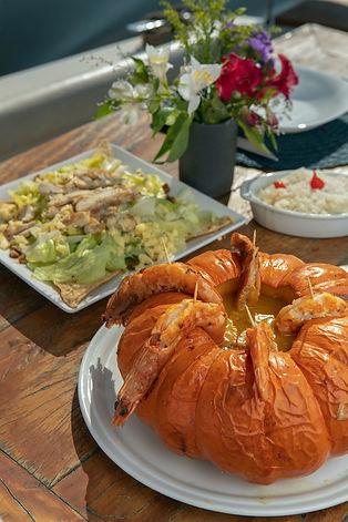 pratos, gastronomia a bordo, Vivan SP 20