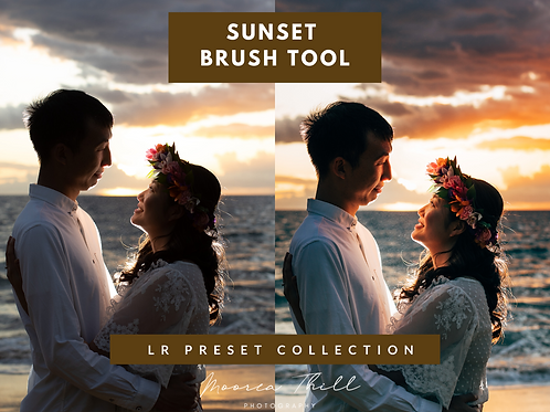 Maui Sunset Lightroom Brush