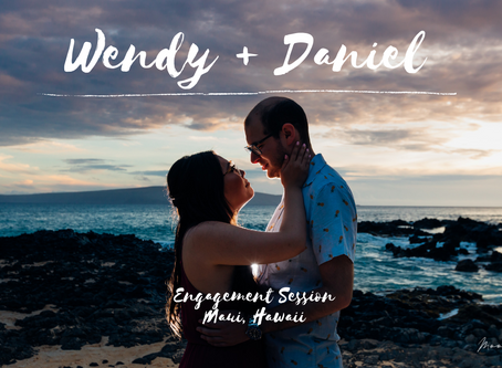 Wendy and Daniel- A Magical Maui Engagement