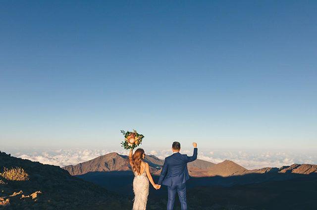 Haleakala Adventure Elopement Moorea Thill Photography
