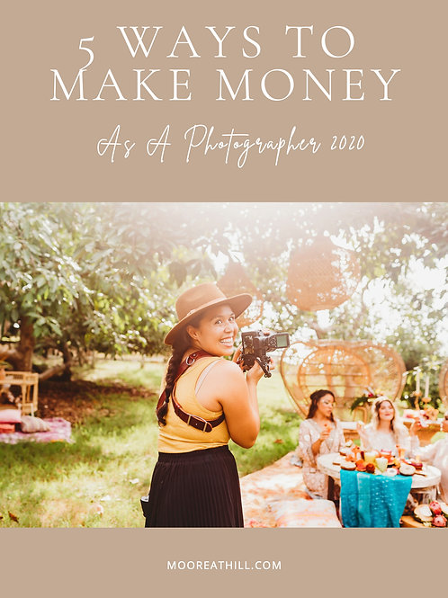 5 Ways To Make Money As a Photographer in 2020