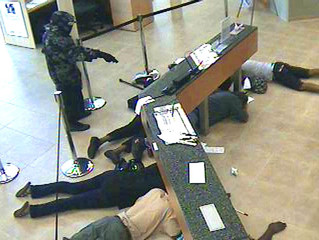 Blood In The Streets, Spokane Bank Robbery Nearly Fatal As Bullets Fly