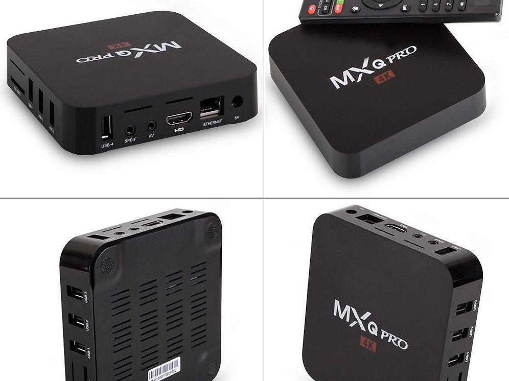 MXQ Pro 4K S905 Smart TV Box 64Bit 2 0GHz Quad Core Android 5 1 1G+8G XBMC  Movie   123wowdeals