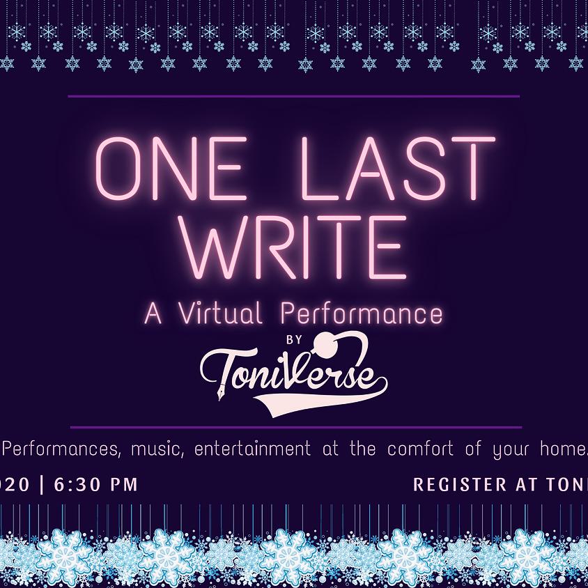One Last Write