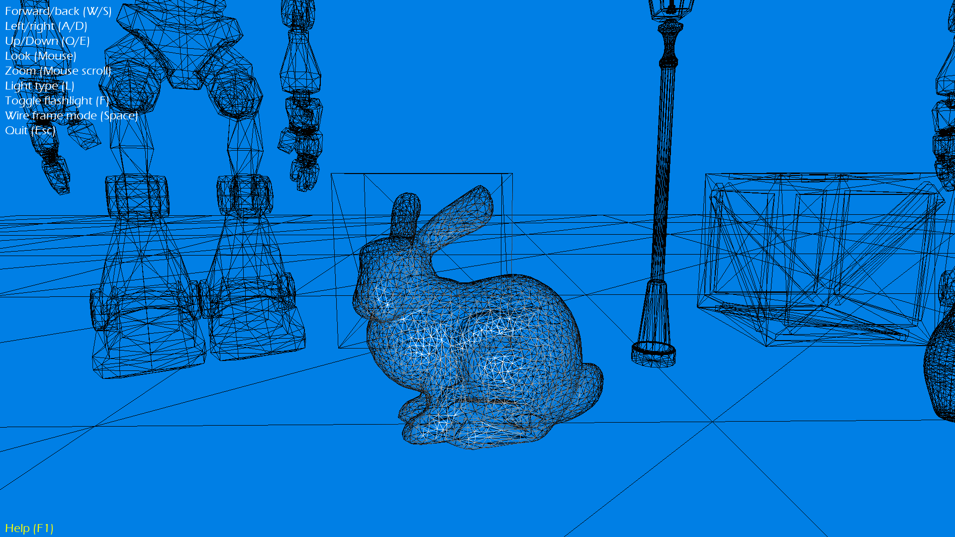 Wireframe Rabbit