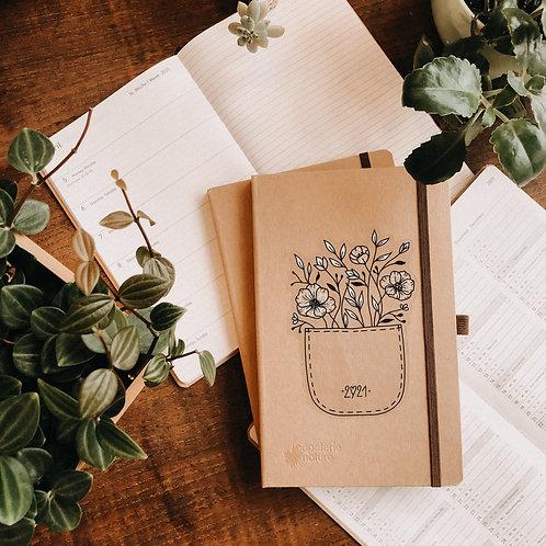 Kalender 2021 flower pocket Terminplanung Planer