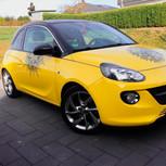 Mandala Aufkleber Opel Adam gelb