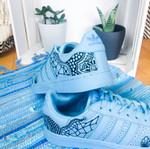 Adidas Superstars individuell bemalt