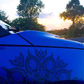 Mandala Aufkleber für Kleinwagen